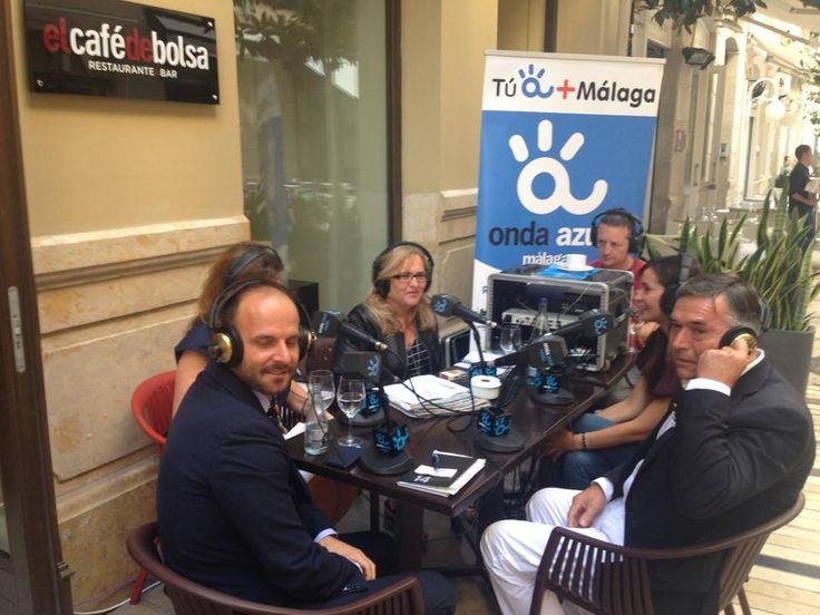 Esta mañana participamos en el programa de Onda Azul Radio para hablar de #RutaVictoria