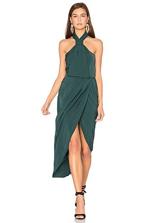 Shona Joy Core Knot Dress in Seaweed | REVOLVE