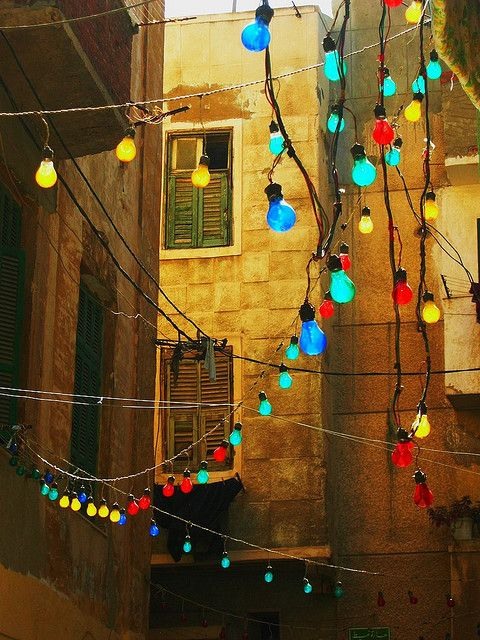"""Kom El Dekka - It is an old Neighborhood in Alexandria, Egypt which literally means """"Mound of Rubble!""""    Photo by Sara Magdy    Via flickr.com"""