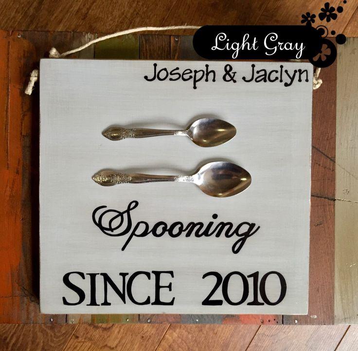 A personal favorite from my Etsy shop https://www.etsy.com/listing/207025624/spooning-sinceunique-wedding-or