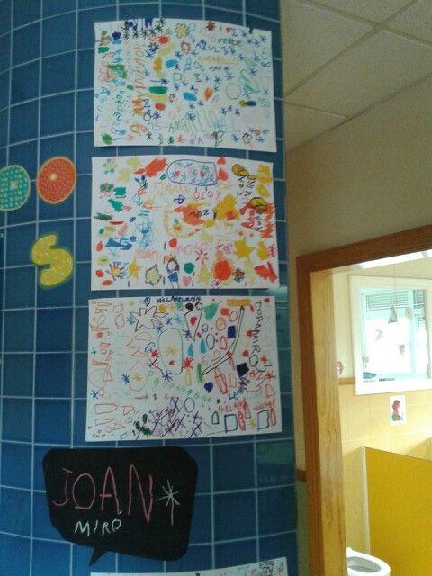 Miró o no miró? Empleanos sus colores y formas. FUNDACIÓN ESCOLAPIAS MONTAL  Colegio La Inmaculada Estructura de aprendizaje cooperativo: folio giratorio