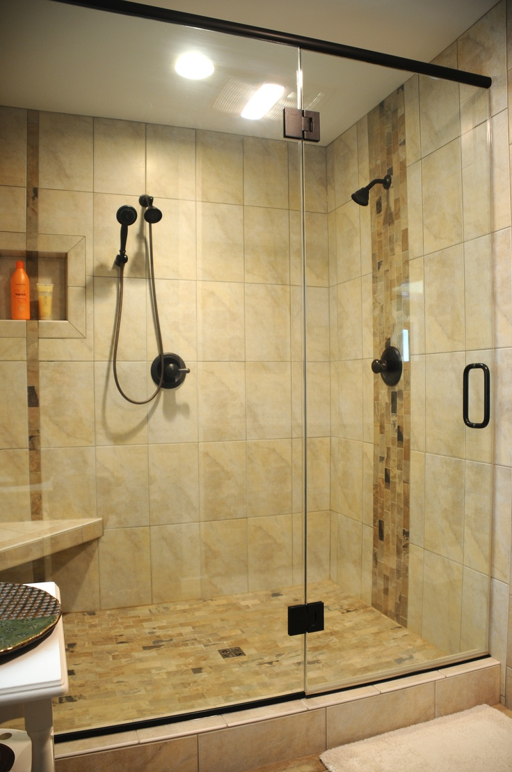 256 best creative tile ideas images on pinterest - How to put down tile in bathroom ...