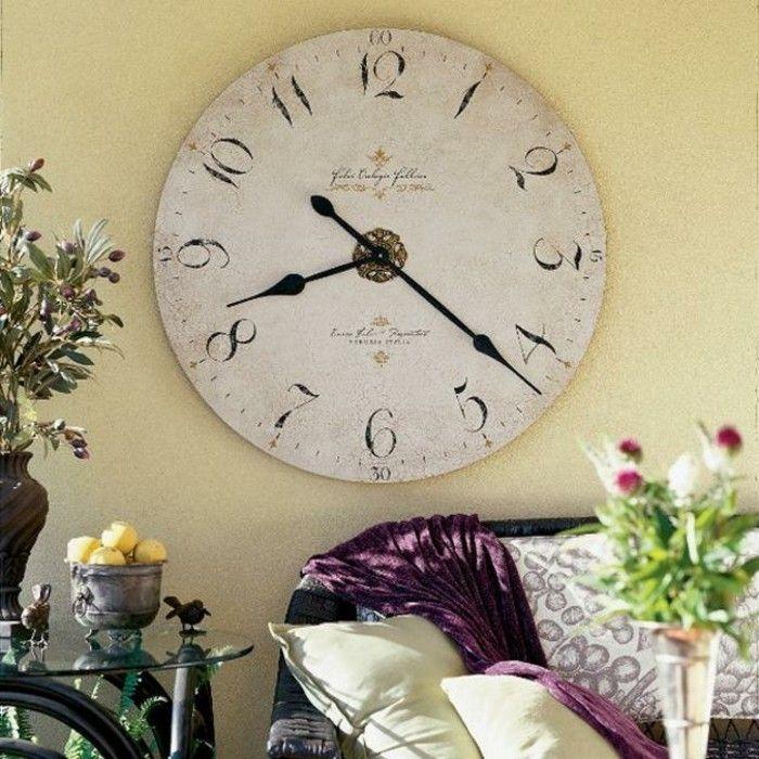 Best 25 horloge murale vintage ideas on pinterest horloge vintage horloge - Horloge murale vintage ...