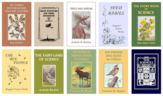 Classics Not Textbooks: Literature Based Education – Science [ideas for all grade levels]