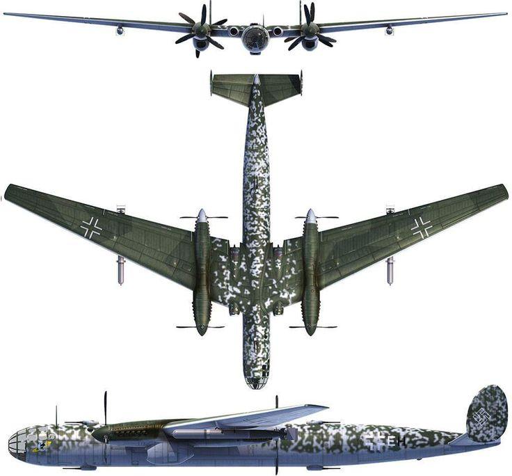 Messerschmitt Me P.1075 Amerika Bomber