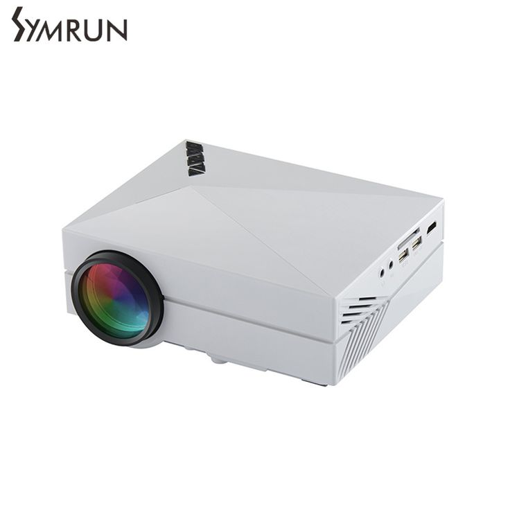 >> Click to Buy << Symrun Support Full HD video portable LED home theater Cheap HDMI projector Beamer Media player gm60 mini LCD projector #Affiliate