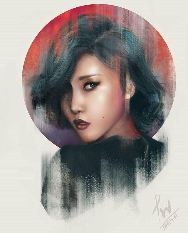 Girl Wallpaper Pop Art Mamamoo Hwasa Fanart Fan Art Girl 2019 Mamamoo