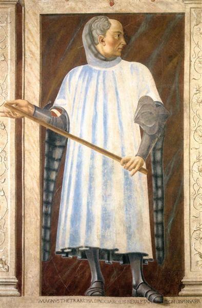 1450 Niccolò Acciaioli - Andrea del Castagno