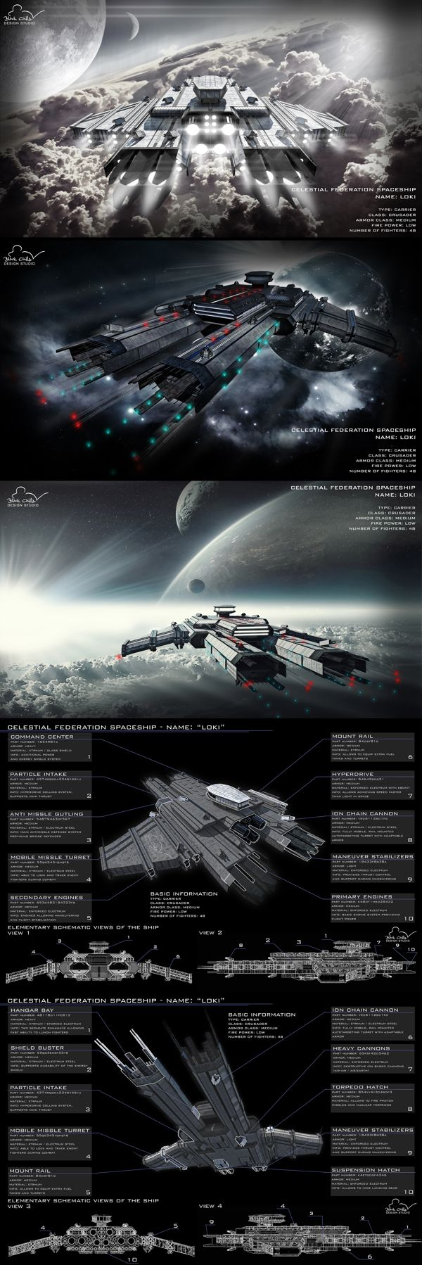 So this happens when we have to much spare time ;)  Maybe one day we will build it - #Spaceship #Loki. Designed by Mateusz Wielgus