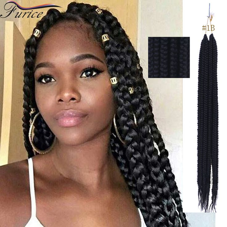 Senegalese Twist Hair 24inch Synthetic Crochet Braids Hair Extensions Micro Braided hair Freetress Crochet Box Braiding Hair
