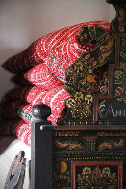 House from Őcsény SKANZEN - Hungarian Open Air Museum (area VII -11) Perhaps my love for many blankets on the bed comes from my Hungarian heritage!