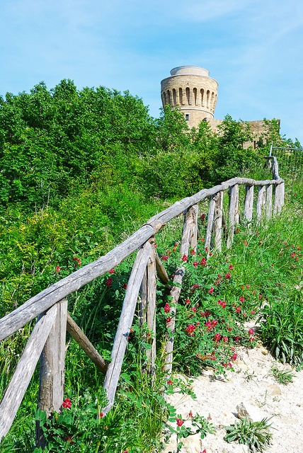 The old Ancona Lighthouse