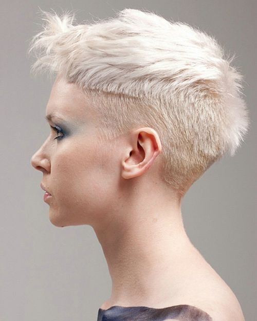 Short Hairstyles For S White Hair