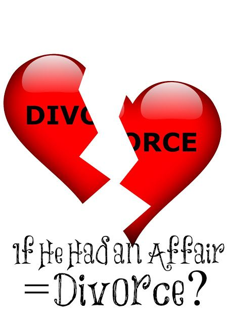 Always Learning: If He Had an Affair = Divorce?
