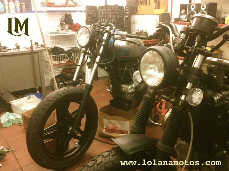 Garage Days, Cafe Racer's en Bogota!