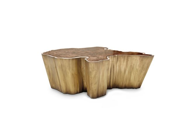 Contemporary coffee table sequoia is a tree shaped table for Coffee table texture