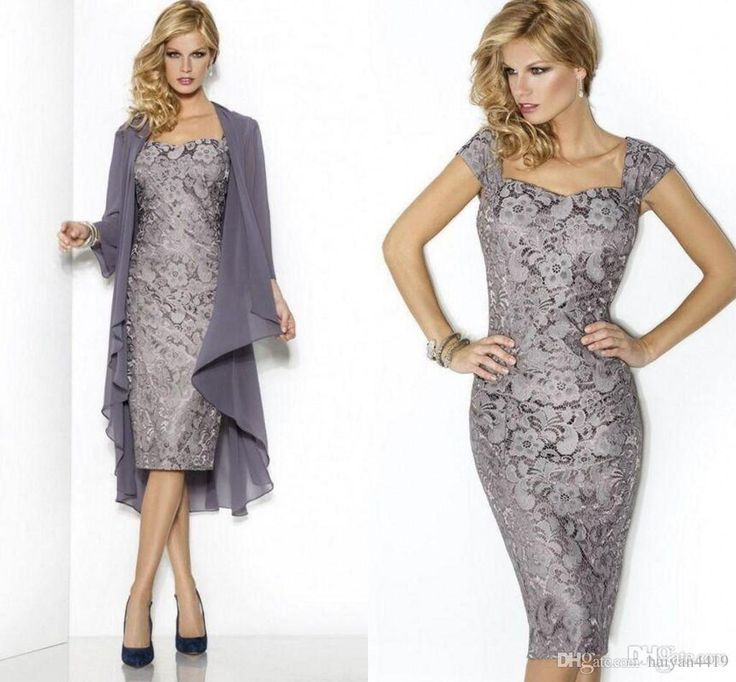 Short Elegant Evening Dresses 2015 Lace Mother Of The Bride Groom Dress Wedding Party Gowns Long Sleeves Chiffon Jacket Mother Of The Bride Dresses Brisbane Mother Of The Bride Dresses Nj From Weddingfactory, $141.31| Dhgate.Com