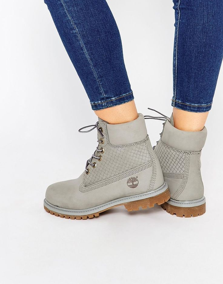 17 Best Ideas About Grey Timberland Boots On Pinterest
