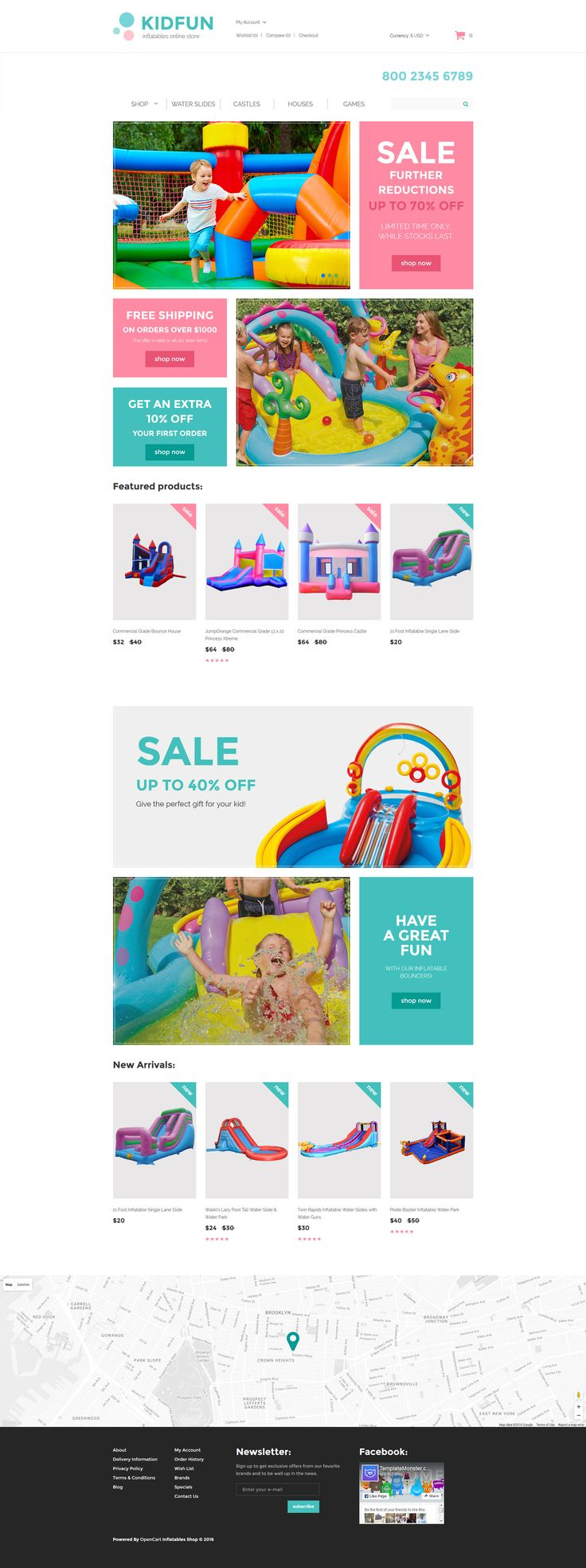 198 best opencart themes images on pinterest baby store responsive opencart template httpstemplatemonster pronofoot35fo Choice Image