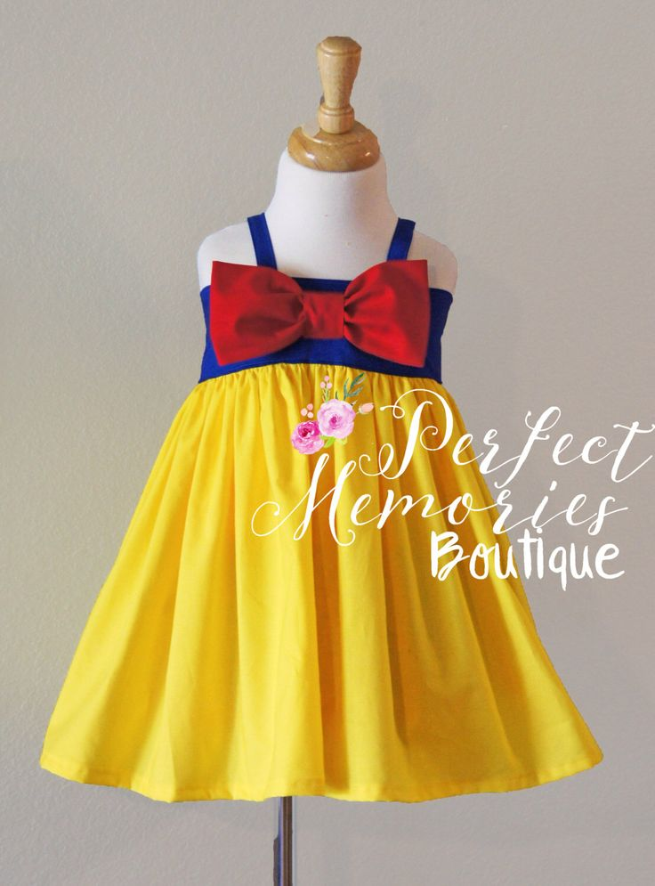 Snow White Dress | Snow White Birthday Party | Snow White | Girls Snow White Dress | Toddler Snow White Dress | Snow White Costume by ThePMB on Etsy https://www.etsy.com/listing/275590622/snow-white-dress-snow-white-birthday