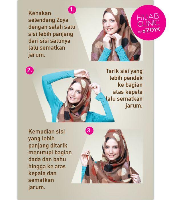 Hamriah Style. Keunggulan style hijab yang satu ini yakni dalam desainnya yang syar'i.