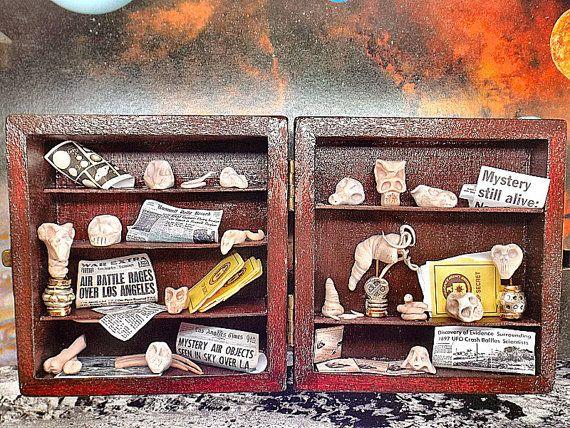 Miniatura decoro casa essi vivono diorama ossario di PiccoliSpazi