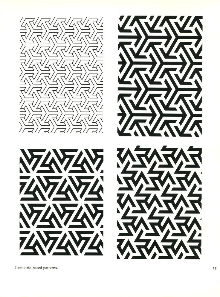 isometric based patterns from patterns in islamic art