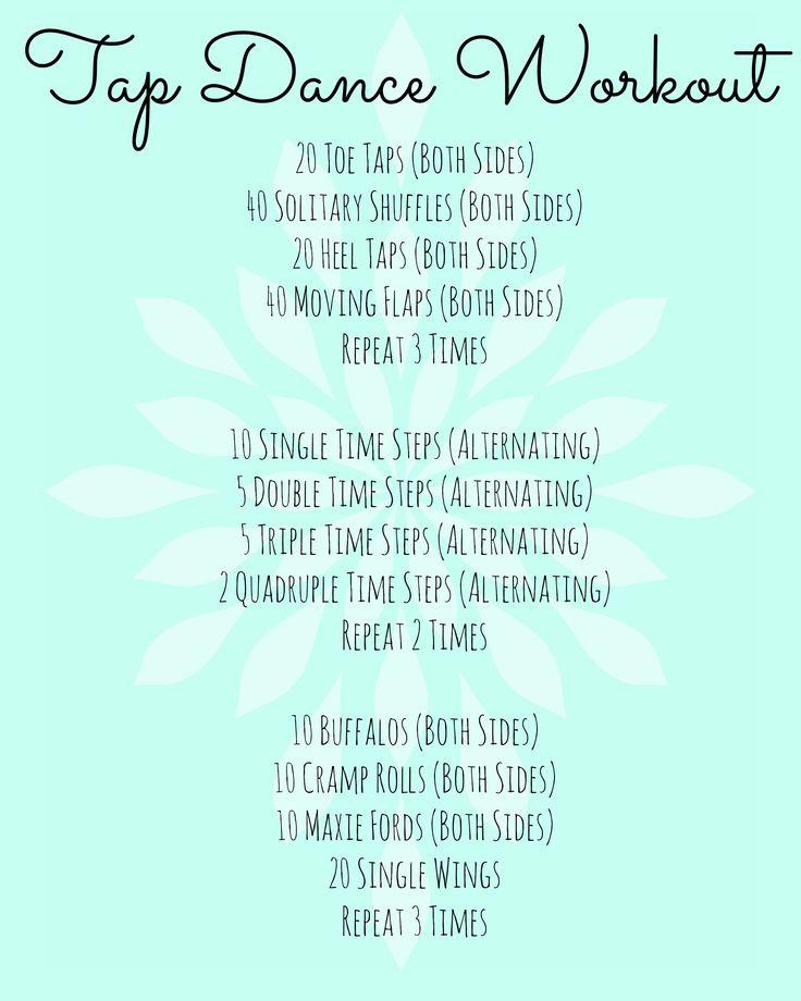 Intermediate Tap Dance Workout Program