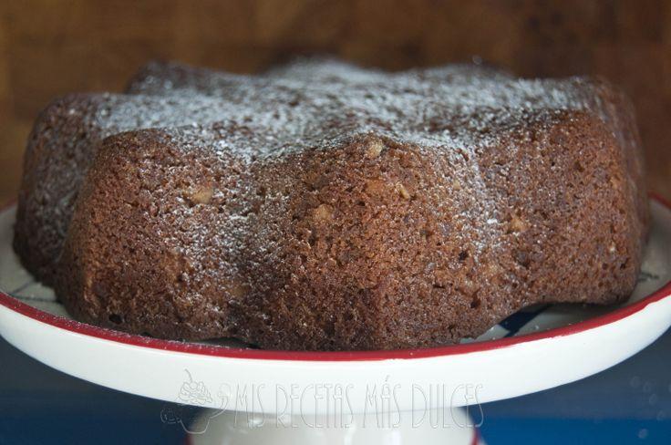 CAKE DE MANZANAS, NUECES Y QUESO http://www.misrecetasmasdulces.com/2013/11/cake-de-manzana-queso-y-avellanas-mrmd.html