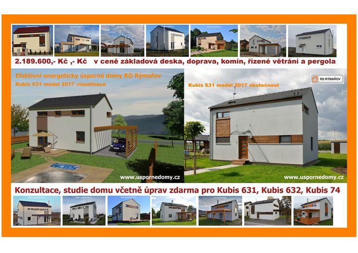 rd rýmařov, kubis, moderní domy, bydlení, dřevostavba,