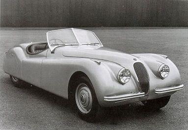 Back Track – Jaguar XK120 (1948 – 1954)