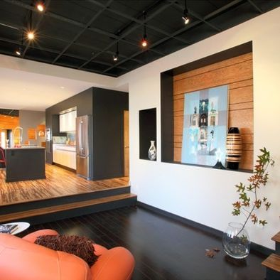 Unfinished Basement Ceilings Design Unfinished Basement