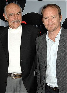 Photo of Sean Connery & his  Son  Jason Connery