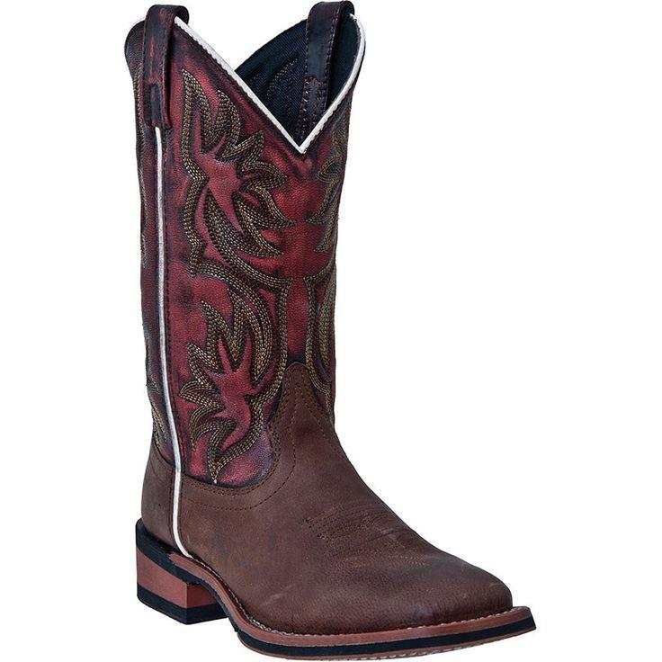 5655 Laredo Women's Gorge Western Boots - Dark Brown www.bootbay.com
