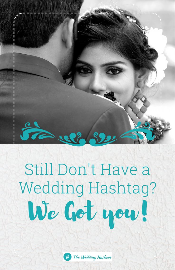 Looking for a great wedding hashtag? Get the best wedding hashtag from a profess…