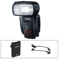 Canon 600EX-RT Flash with Bolt Power Pack & CZ Cable Kit