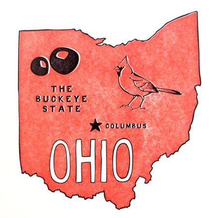 Best Map Of Ohio Ideas On Pinterest Map Of Cleveland Ohio - Columbus ohio on us map