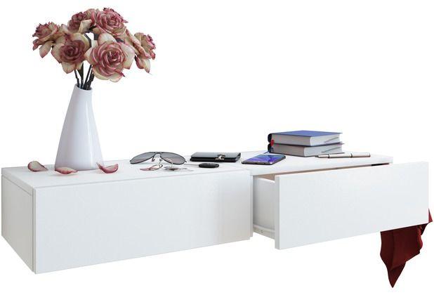 vcm wandschublade blado 2 wandregal wandablage. Black Bedroom Furniture Sets. Home Design Ideas