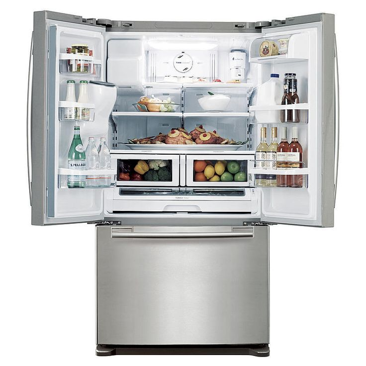 Nice What French Door Refrigerator Brand Is Best Part - 13: French Door Refrigerator - Stainless Steel. Refrigerator BrandsBest ...