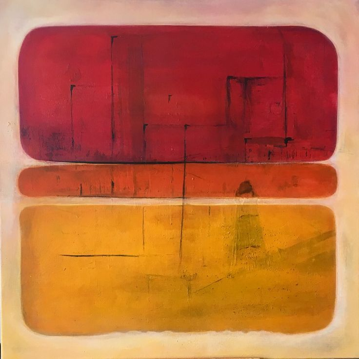 The Lighthouse  Mixed media acrylic painting  by Pauline Lindberg