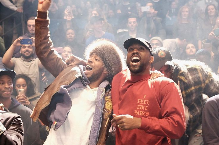 Do Kanye West & Kid Cudi Have a Collaboration in the Works?