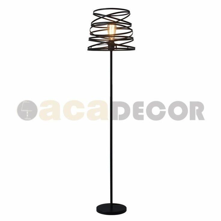 Kourtakis lighting -  #Φωτιστικό #Δαπέδου μεταλλικό μαύρο σε σχήμα σπιράλ. Τα φωτιστικά δαπέδου είναι μπαλαντέρ για τη διακόσμηση, αφού μετακινούνται όπως σας αρέσει και δεν είναι απαραίτητο να ακολουθούν το συγκεκριμένο ύφος του δωματίου σας. Δείτε τα χαρακτηριστικά του: http://kourtakis-lighting.gr/fotistika-floorlights-metal-wood-crystal-fotistika-indoor-diakosmisi/2763-ks1538fb-.html