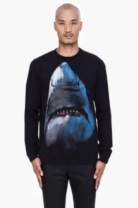 tshirt: Givenchy Sharks, Style, Men'S, Sharks Prints, Sharks Attack, Givenchy Black, Men Sweaters, Prints Sweaters, Black Sharks