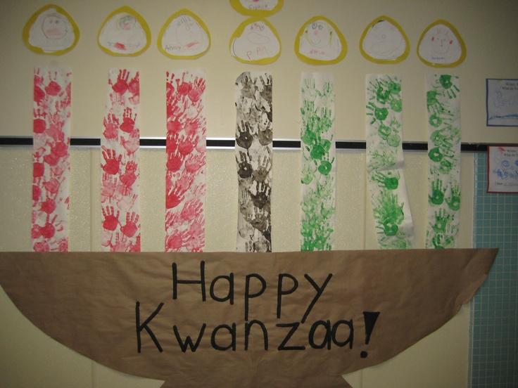 Kwanzaa classroom bulletin boards