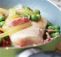 Weigh-Less Online - Roast Chicken Peas And Bacon