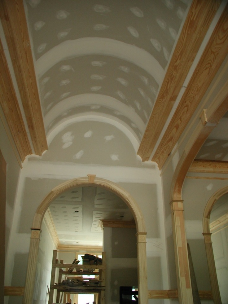 34 best barrel vault ceilings images on pinterest for Barrel ceiling ideas