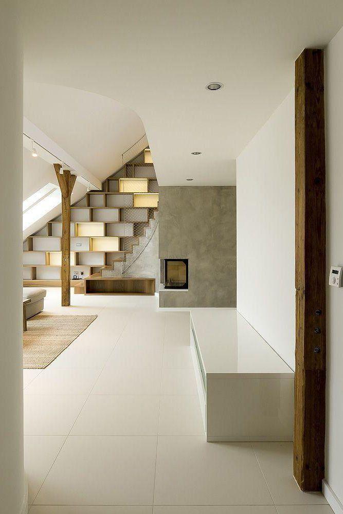 Rounded Loft, Prague, 2011 by A1 architects #architecture #design #loft