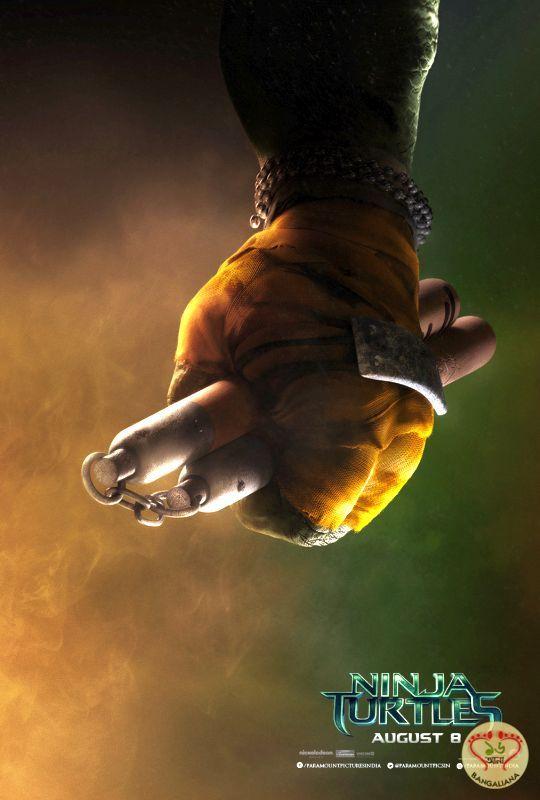 NINJA TURTLES Teaser Posters Released; Paramount Pictures Presentation  http://sholoanabangaliana.in/blog/category/bolly-news/#ixzz2yjiWGnJL