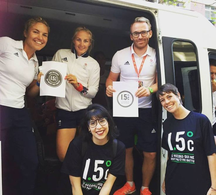 #UK #Olympic #Rowing Team stands with #1o5C campaign to stop global #TemperatureRise. #TheRecordWeMustNotBreak