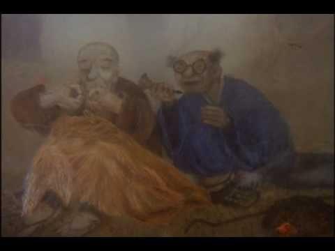 Безумные стихи, или Шум сосны на сумиё. Мультфильм Юрия Норштейна, по мотивам хокку японского поэта 17 века Мацуо Басё.